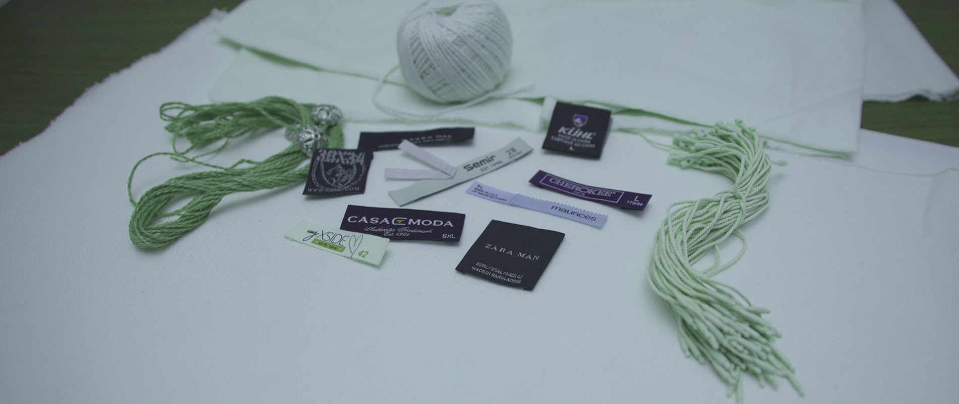 Custom Printed Labels & Hand Tags, Woven Labels.