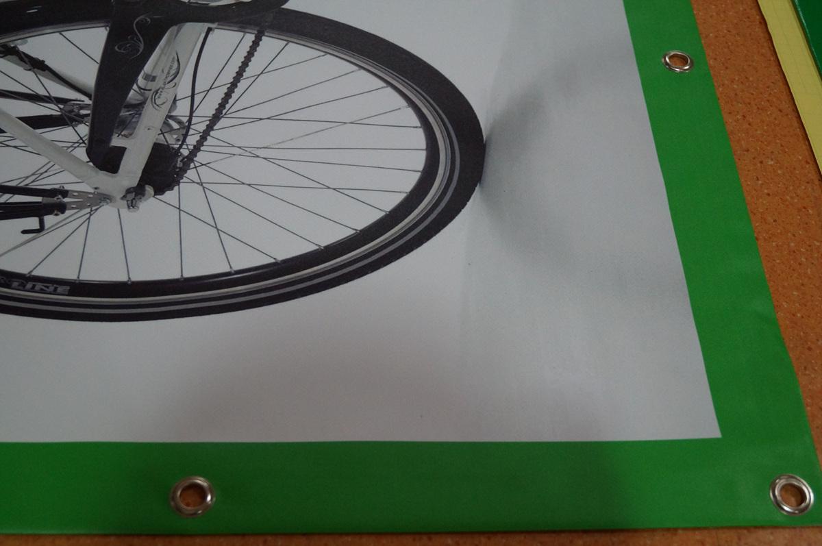 matt finish custom vinyl banner