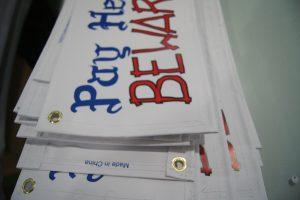 banner printing-detail