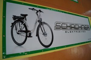 vinyl banner for electric bike
