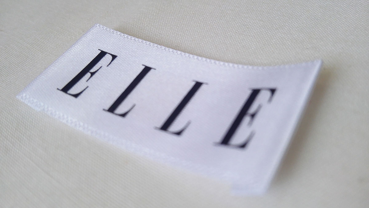 ELLE polyester-fabric-printed-label