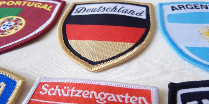 Embroidered Patches for National Football Team Uniforms