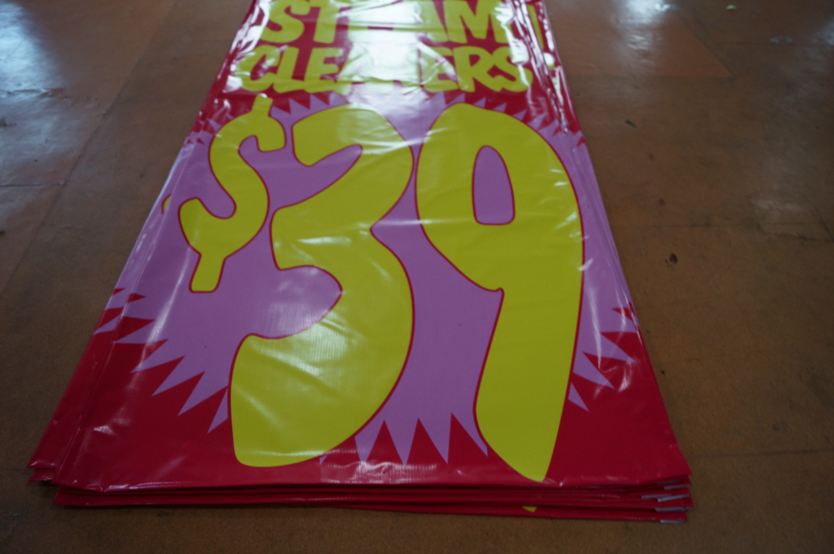 vinyl banner for Promotional Campaign 1