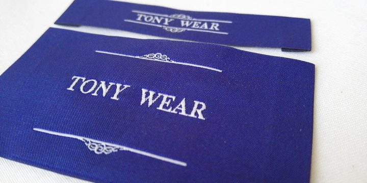 Some elegant woven labels for fashion industry