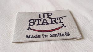 double-shuttle-woven-logo-label